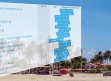 Langfristige Sommerferienregelung 2014 bis 2024