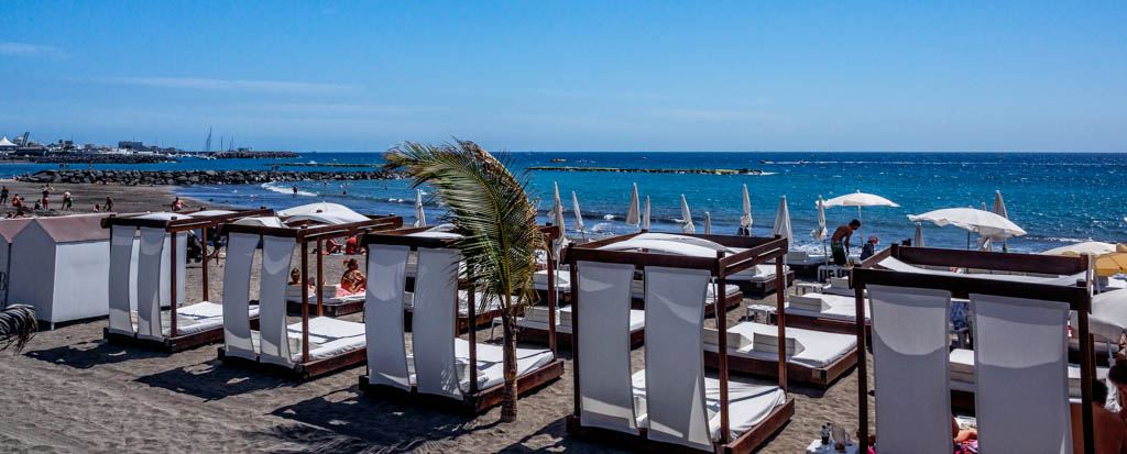 Playa de Fañabe (Costa Adeje) Teneriffa