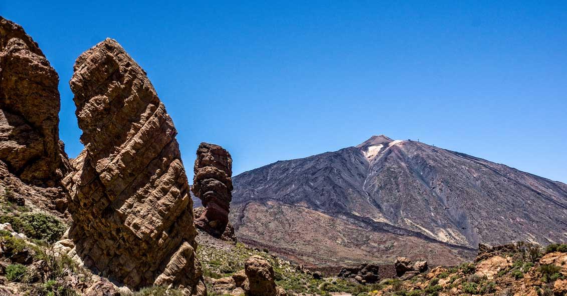 Teneriffa: Roques de García mit Teide