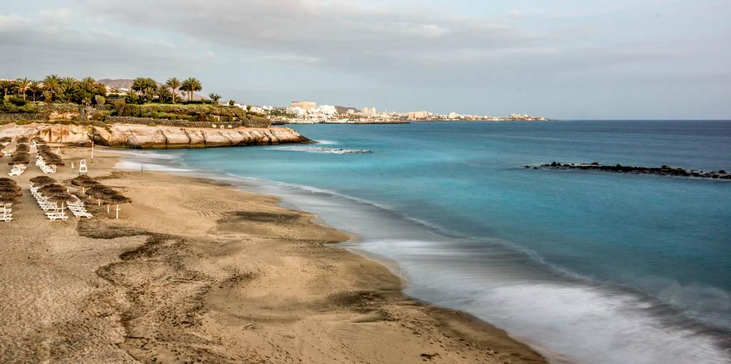 Playa del Duque am Abend