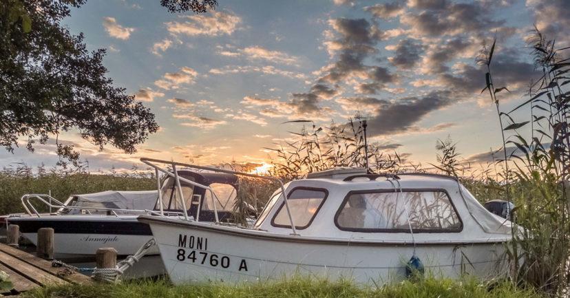 Sommerurlaub 2020 – mit dem Boot an die See